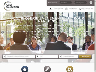 Détails : Service gratuit pour la Conciergerie evenementiel Event Collection à paris
